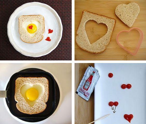 comida forma coracao namorados 2