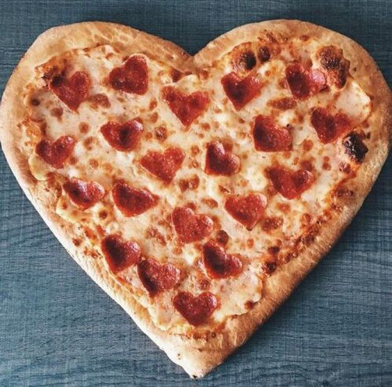 comida forma coracao namorados 5