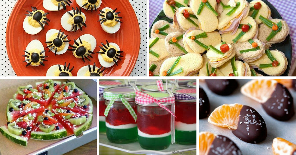 10+ Ideias de Comidinhas Saudáveis para Festa Infantil