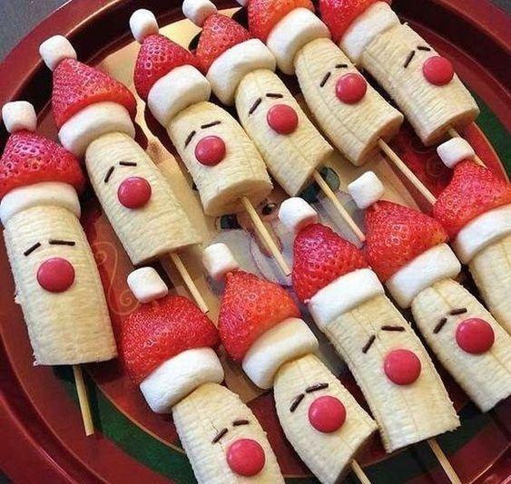 comida saudavel natal crianca fruta