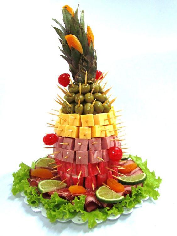 comidas criativas festa 18
