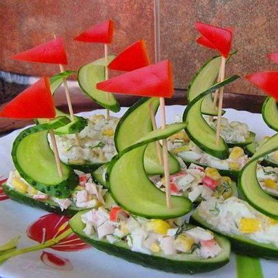 comidas criativas festa 2