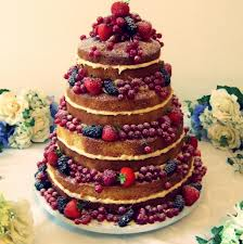 como decorar naked cake
