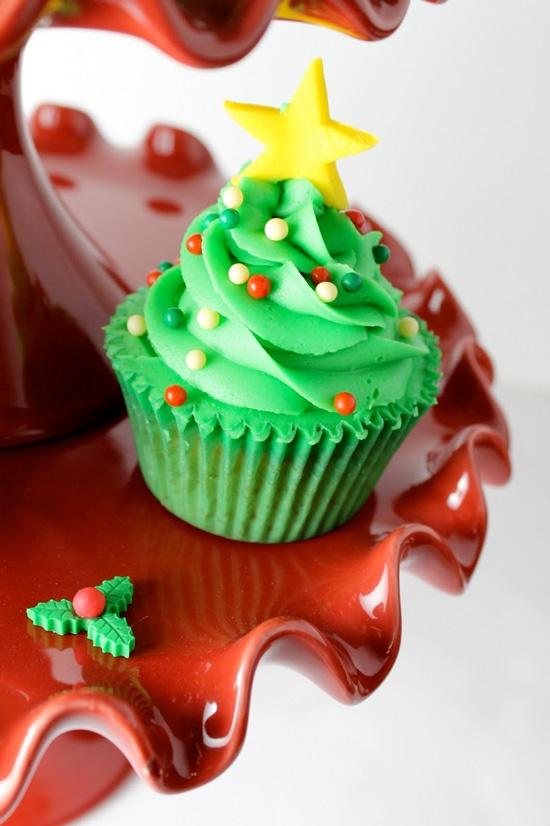 cup cake arvore natal