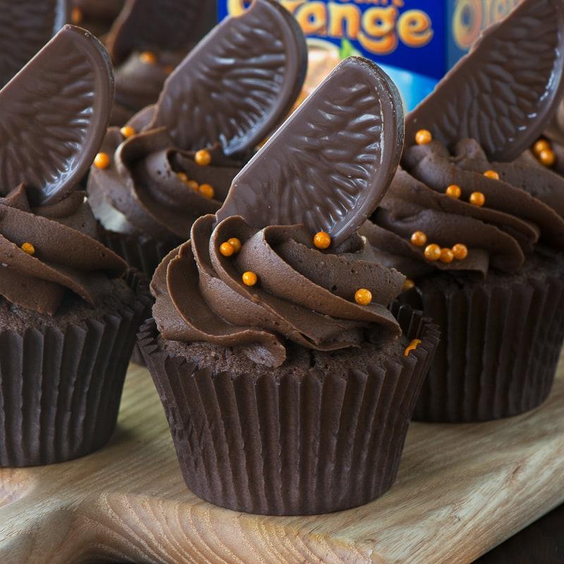 cupcake chocolate inspiracao laranja