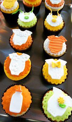 cupcakes cha de bebe originais