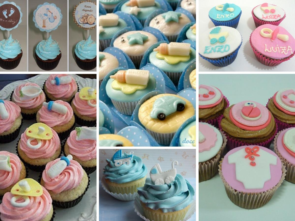 Cupcakes para o Chá de Bebé