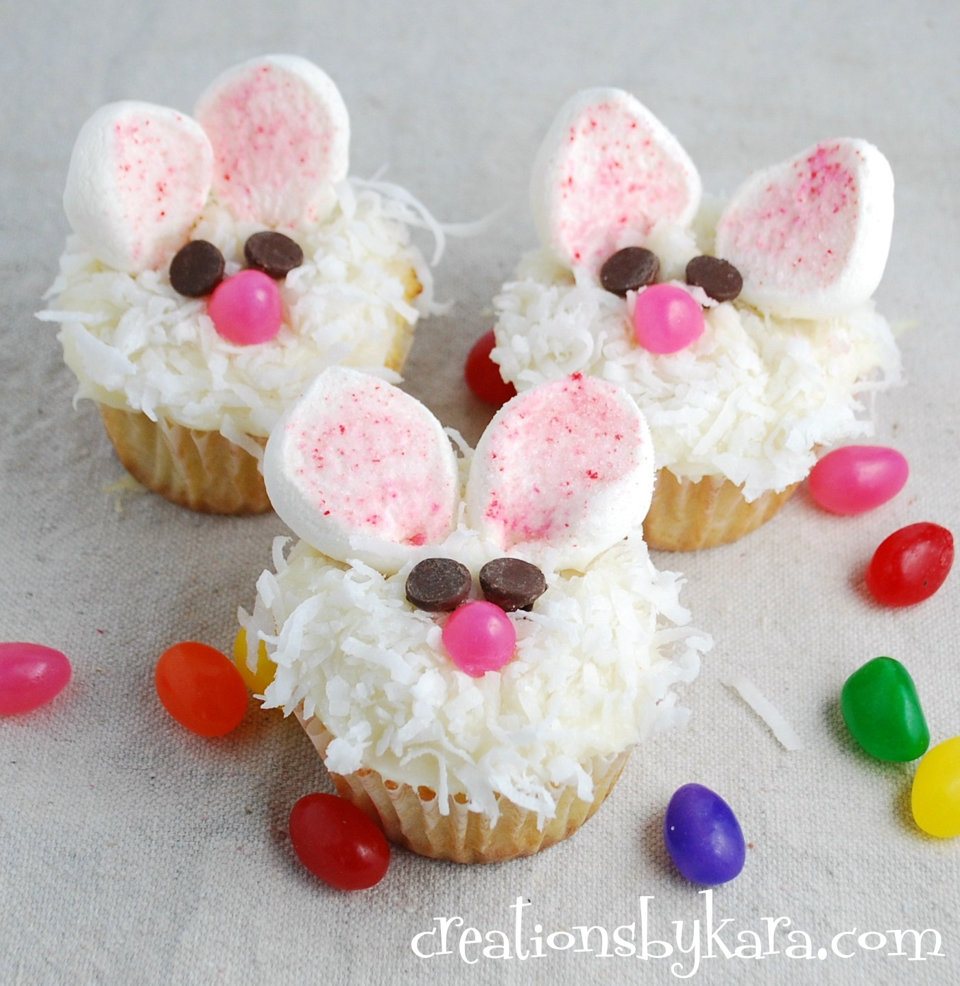 cupcakes coelhos