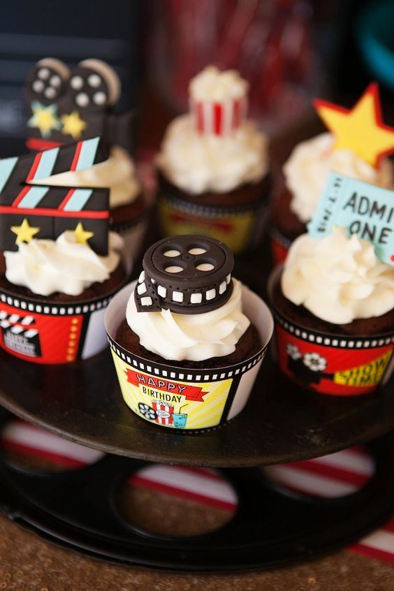 cupcakes festa hollywood