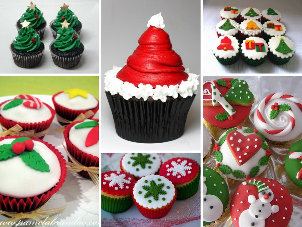 Cupcakes para o Natal (Receita + Modelos)