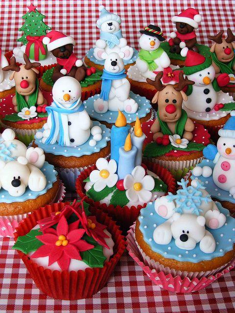 cupcakes natal receita