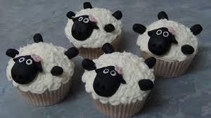 cupcakes ovelha chone