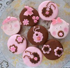 cupcakes para chá de bebe