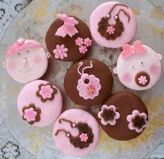 cupcakes para ch%C3%A1 de bebe