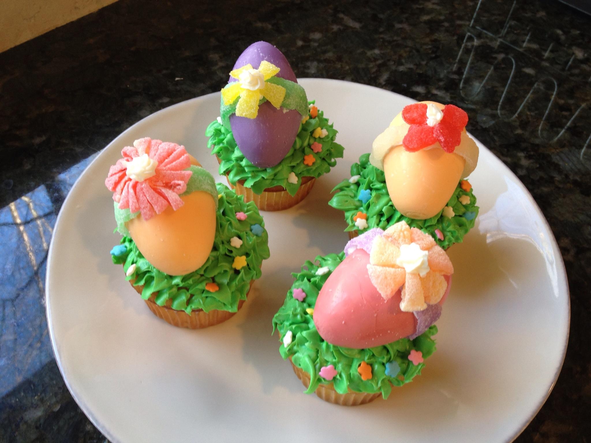 cupcakes pascoa ovinhos