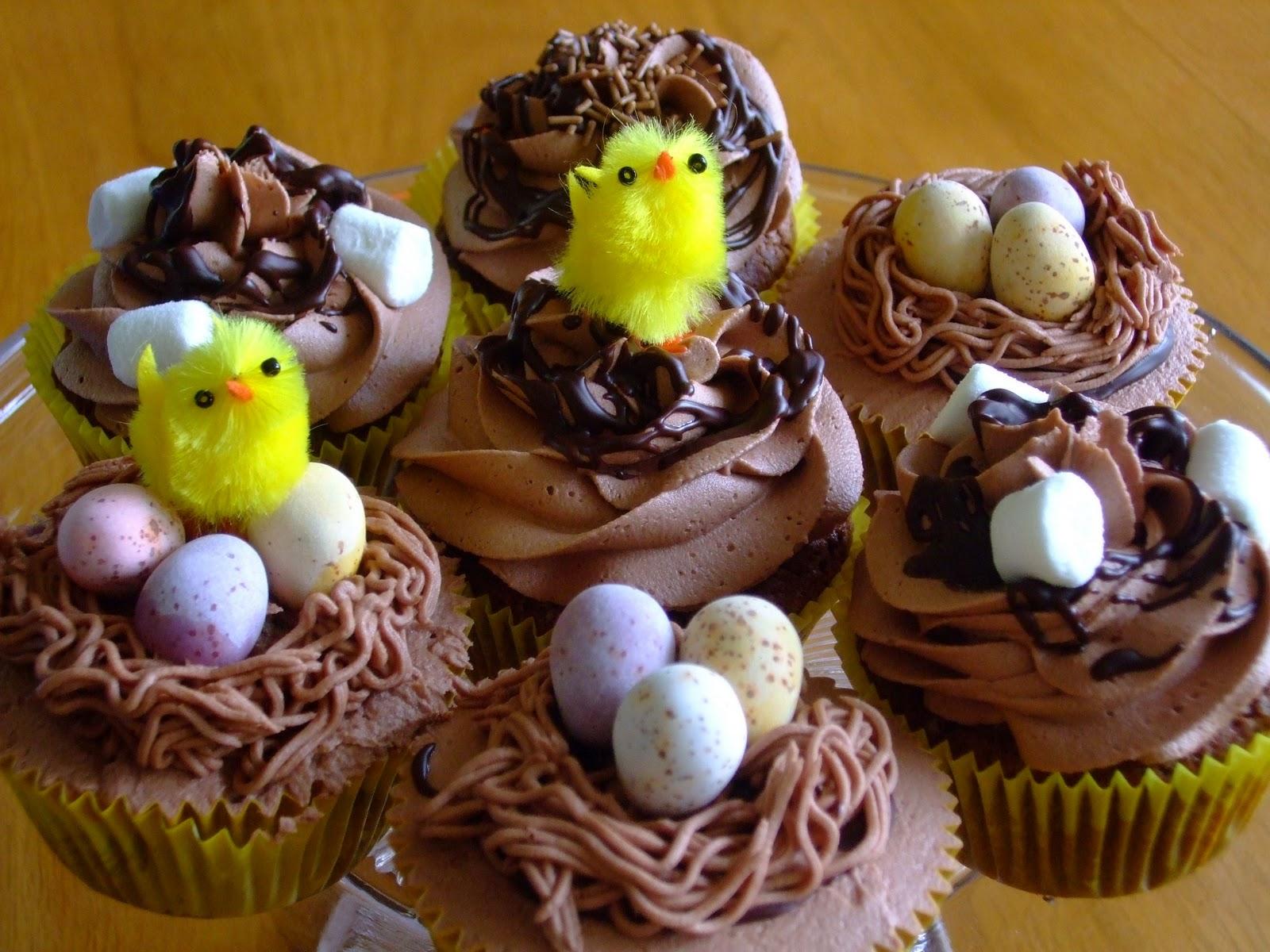 cupcakes pascoa ovos
