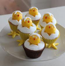 cupcakes pascoa pintainhos