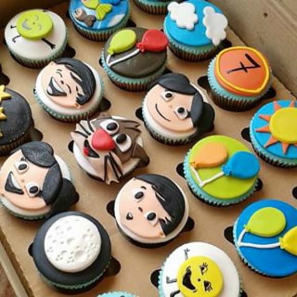 cupcakes show da luna