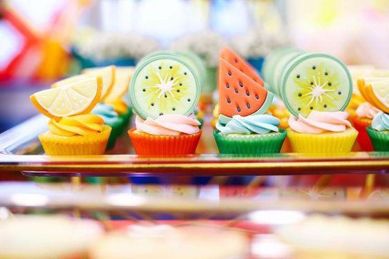 cupcakes tutti frutas