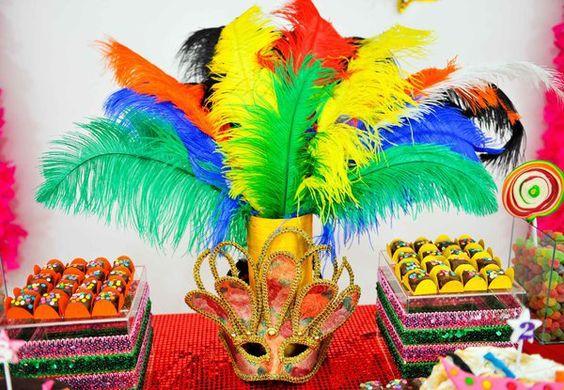 decoração festa carnaval 1