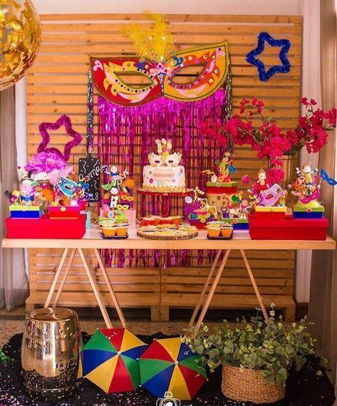 decoração festa carnaval 4