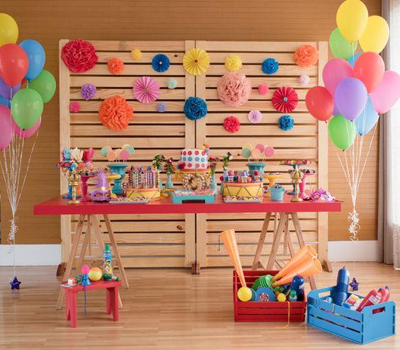 decoração festa carnaval