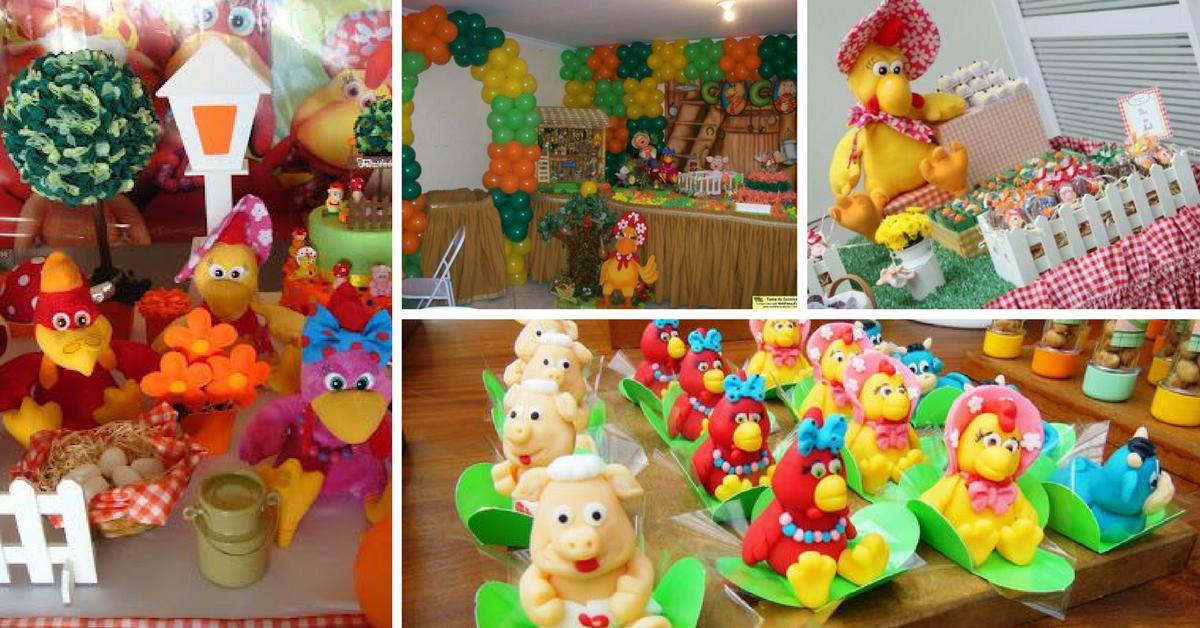 Bolos e Dicas para Festa de Aniversário Cocoricó