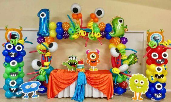 decoracao bolos festa monstrinhos 2