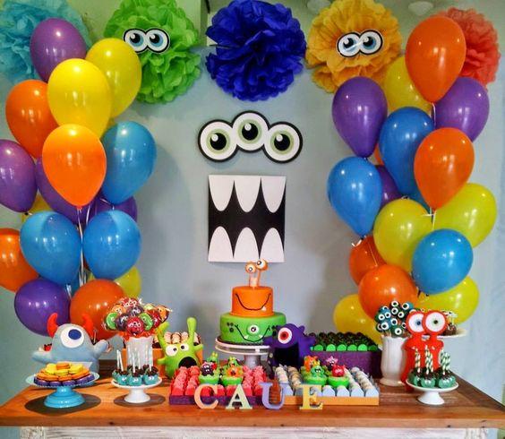 decoracao bolos festa monstrinhos 3