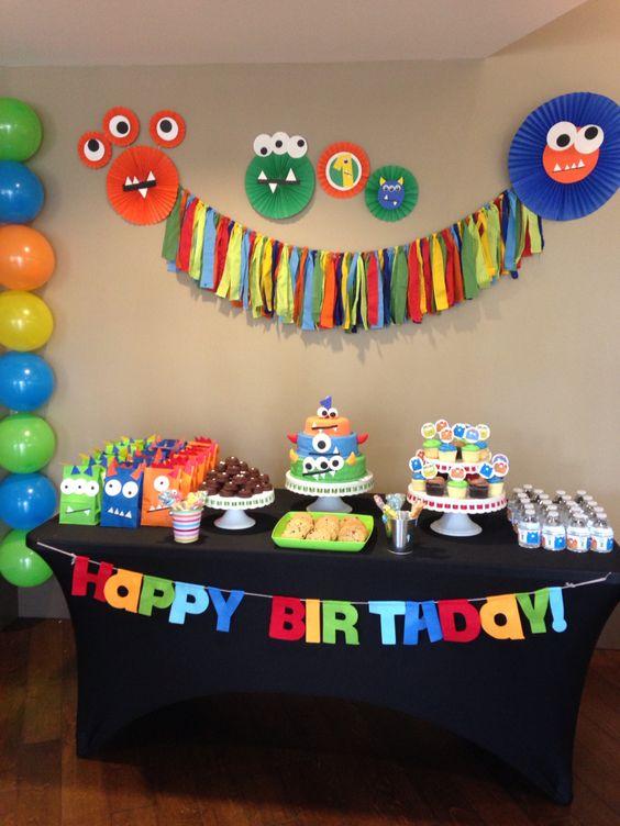 decoracao bolos festa monstrinhos 4