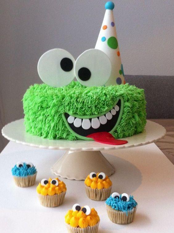 decoracao bolos festa monstrinhos 7