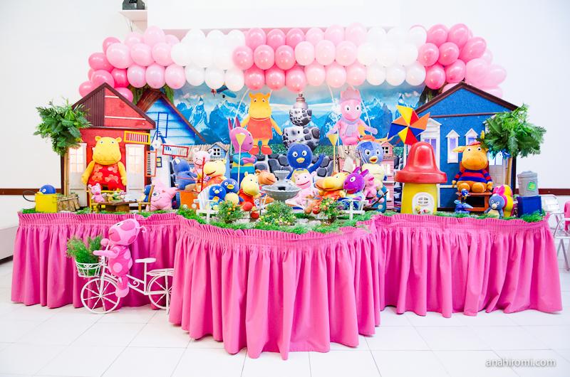 decoracao festa 1 aniversario baloes