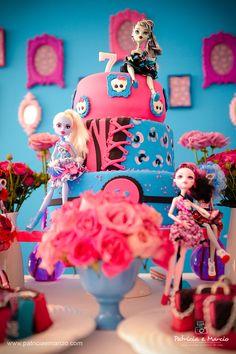 decoracao festa Monster High 2