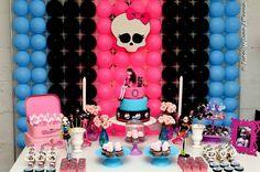 decoracao festa Monster High 4
