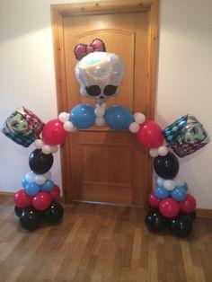decoracao festa Monster High 5