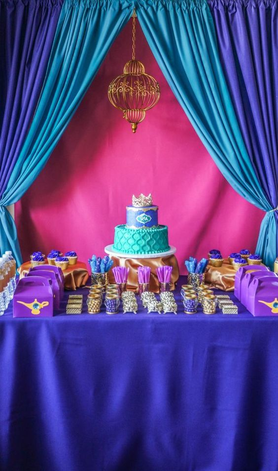 decoracao festa Shimmer Shine 2