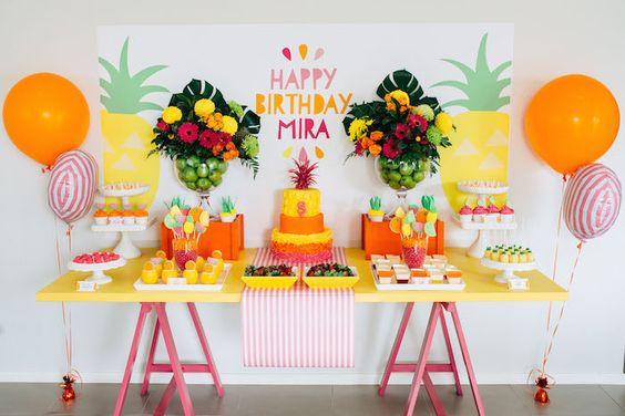 decoracao festa Tutti Frutti 1
