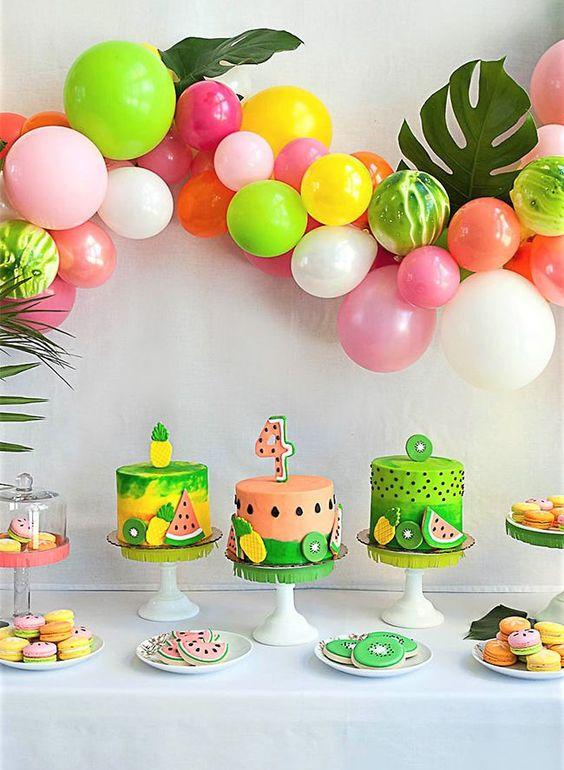 decoracao festa Tutti Frutti 2