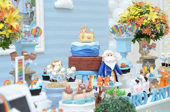 decoracao festa arca noe 1