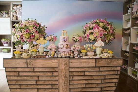 decoracao festa arca noe menina