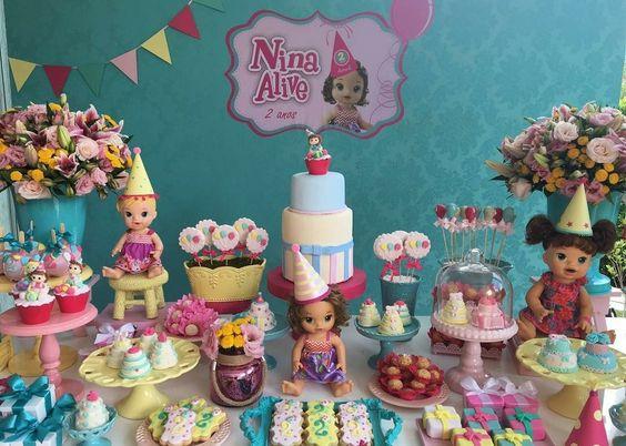decoracao festa baby alive 1