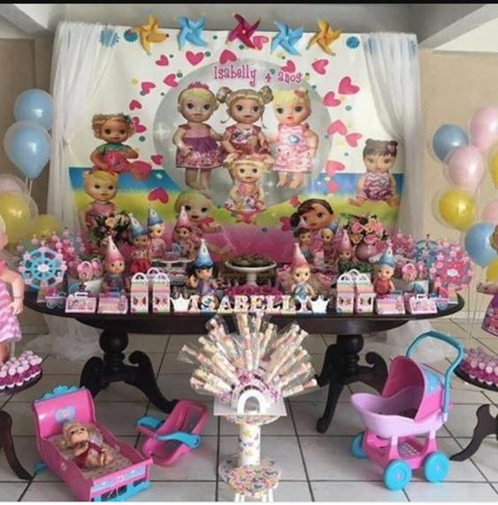 decoracao festa baby alive 2
