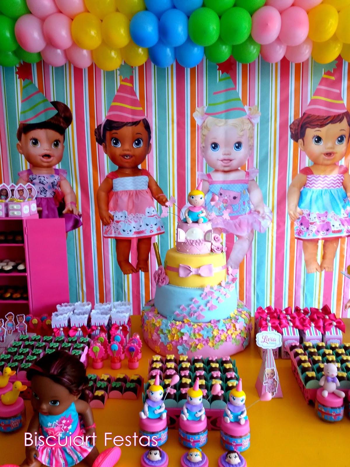 decoracao festa baby alive 3