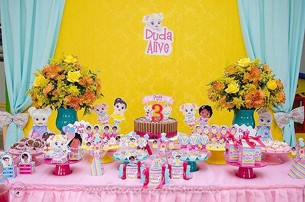 decoracao festa baby alive 4
