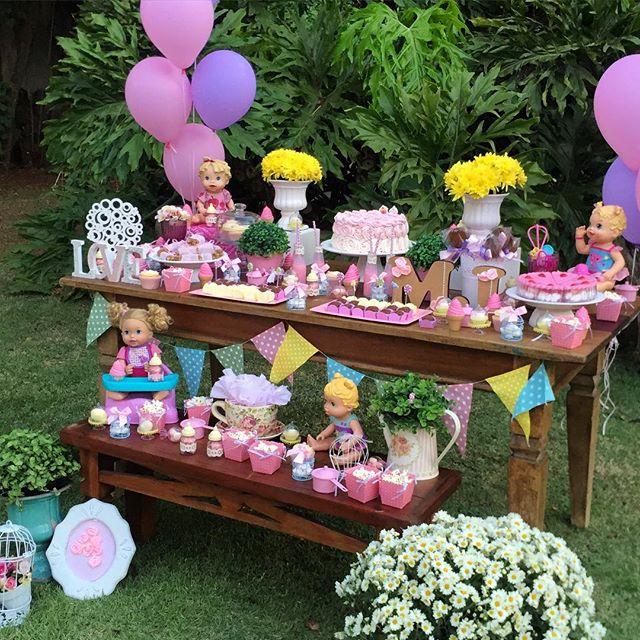 decoracao festa baby alive 5