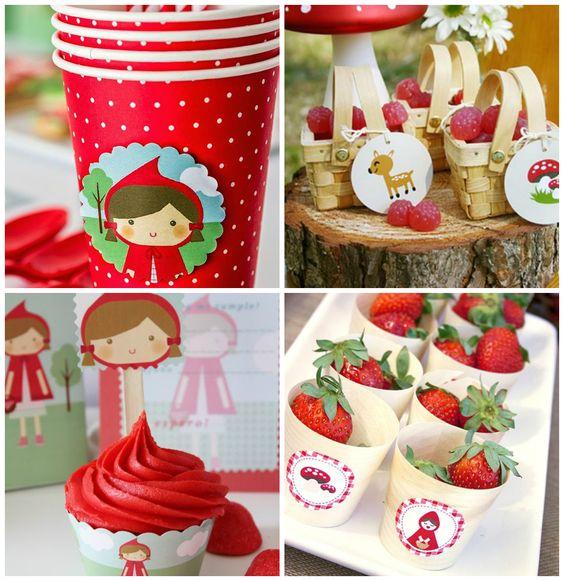 decoracao festa chapeuzinho vermelho 5