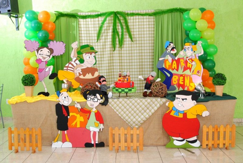 decoracao festa chaves 5