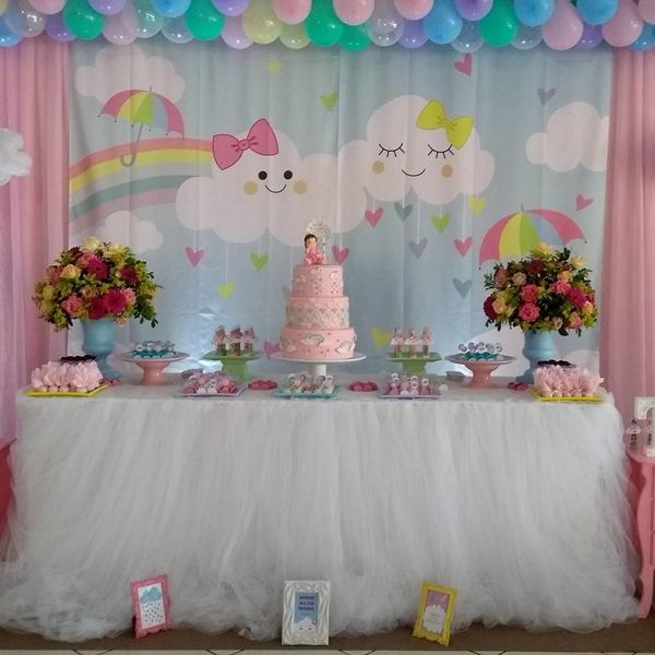 decoracao festa chuva amor 3