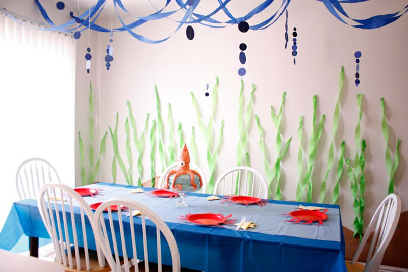 decoracao festa fundo mar 1