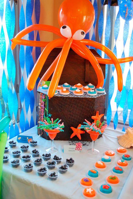 decoracao festa fundo mar 4